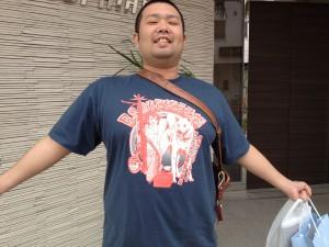 もてもてラジ袋Tシャツ