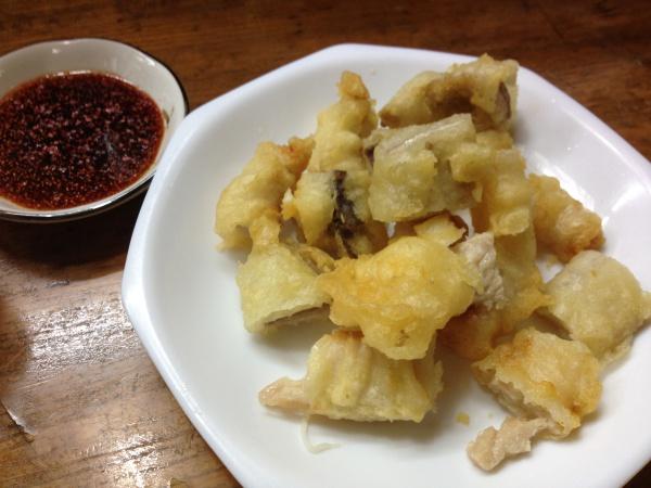 広島の知られざる郷土料理ホルモン天ぷらを食べてしまう話
