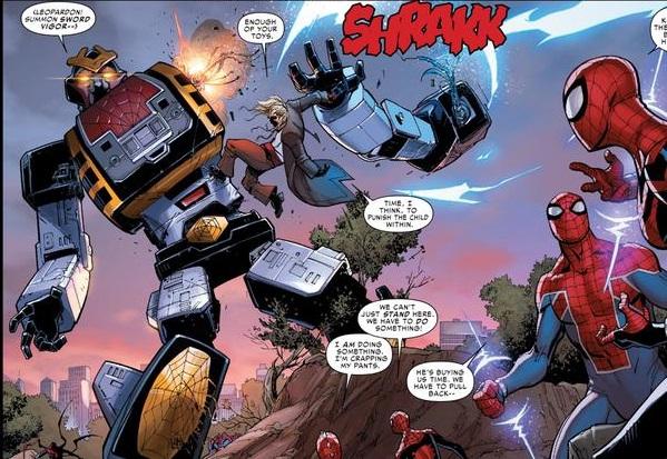 日本のスパイダーマンは冗談が通じなそう!?
