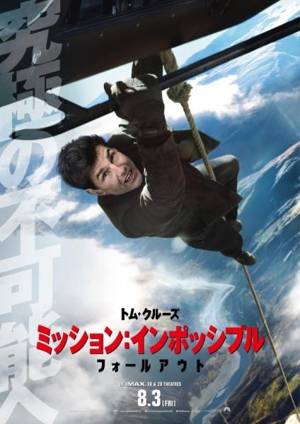 トム・クルーズが世界最高のアクション映画俳優になるって想像してたか!?