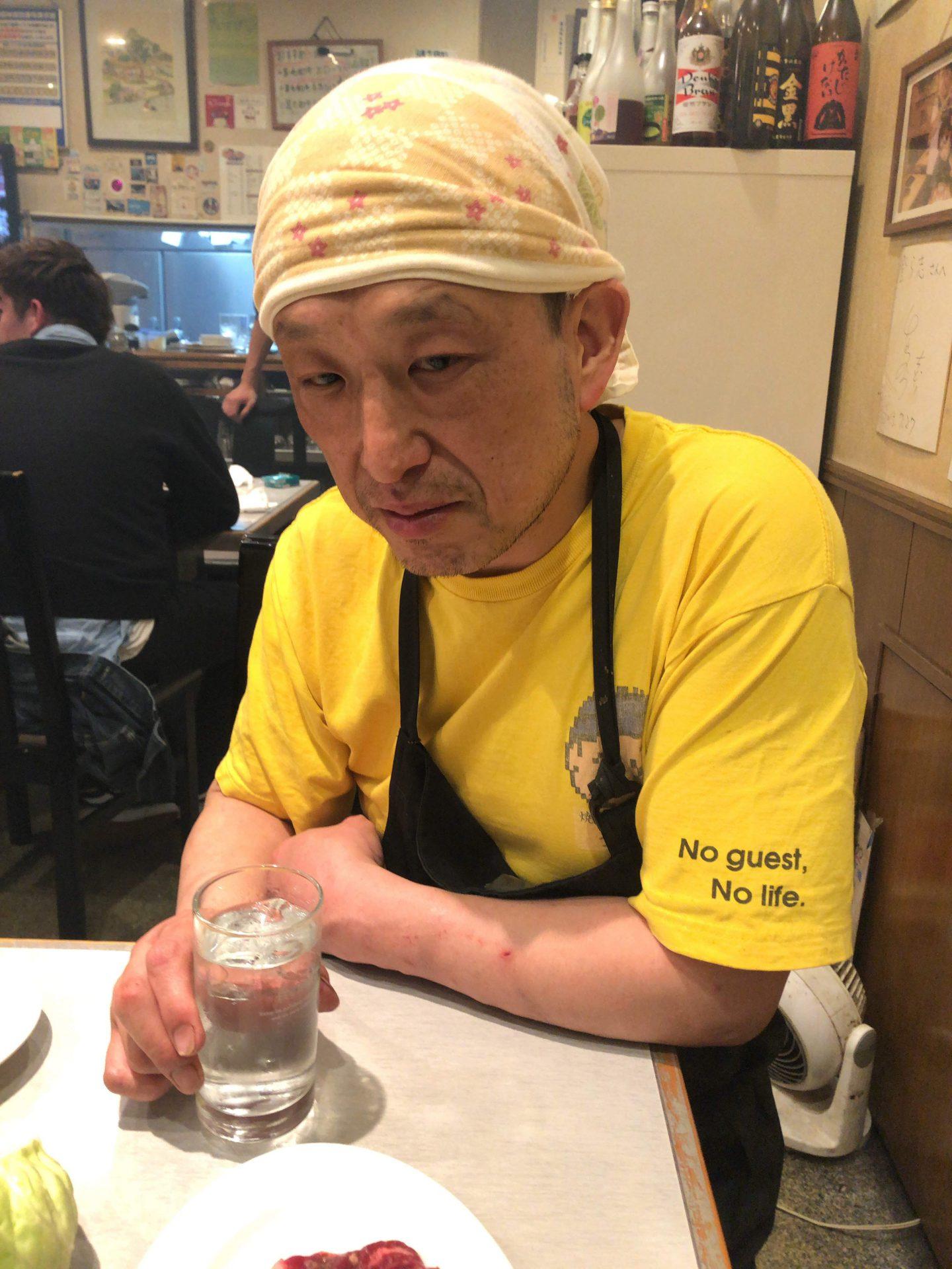 大阪九条の焼肉レストラン登ら志が不景気と戦う放送!?