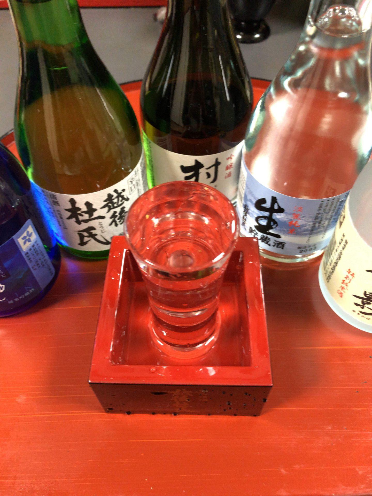 福井に行った時の話を新潟の地酒セットを呑みながらします!?